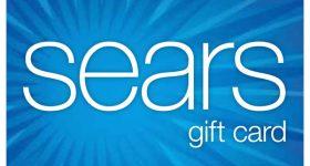 sears gift card Balance